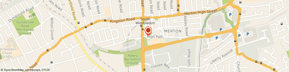 Route/map/directions to Matches, SW19 5BY London, 34 HIGH ST WIMBLEDON