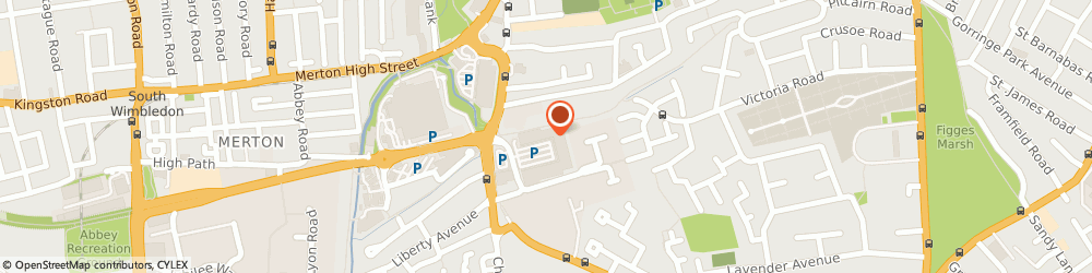 Route/map/directions to JD Sports, SW19 2TY Colliers Wood, Unit 2 Tandem Centre Top Of Church Rd