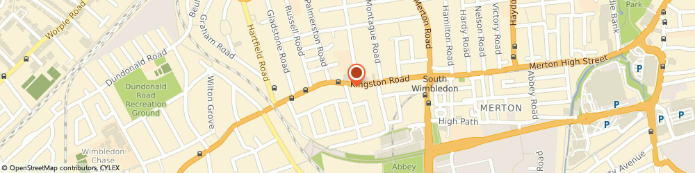 Route/map/directions to A. Hanna & Sons Pianos Ltd, SW19 1LA London, 94 Kingston Road