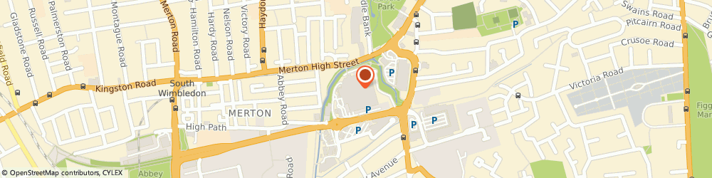 Route/map/directions to Timpson Mobile Locksmiths - London, SW19 1DD London, Sainsbury's 1 Merton High Stree