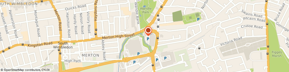 Route/map/directions to We Buy Any Car Colliers Wood, SW19 2PP London, POD building on car park - Priory Retail Park