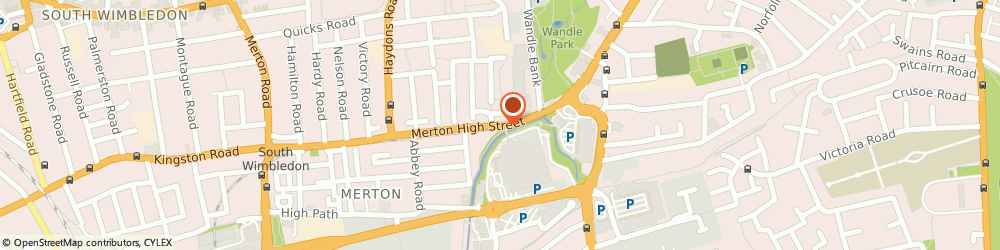 Route/map/directions to Network London PR & Marketing, SW19 5BY London, 34, HIGH STREET