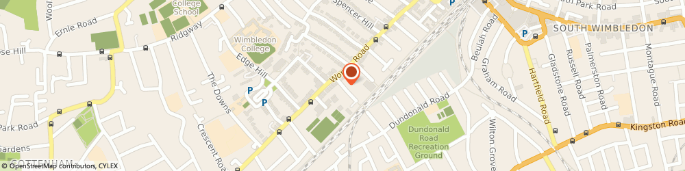 Route/map/directions to Louie Black House, London, SW19 4HE London, 3 Elm Grove