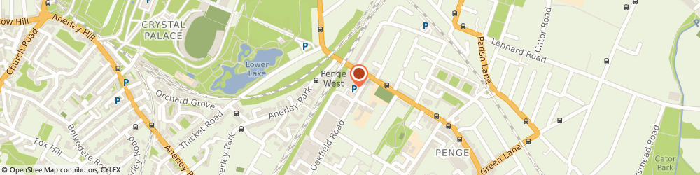 Route/map/directions to We Buy Any Car Penge, SE20 8RD London, Pod on Homebase Car Park