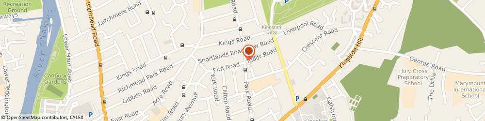 Route/map/directions to Bodyworks Physiotherapy Plus, KT2 6DQ Kingston Upon Thames, 157 Park Rd