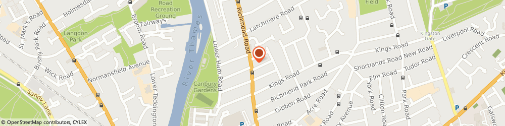 Route/map/directions to Classic Barbers, KT2 5HA Kingston Upon Thames, 148 Richmond Road