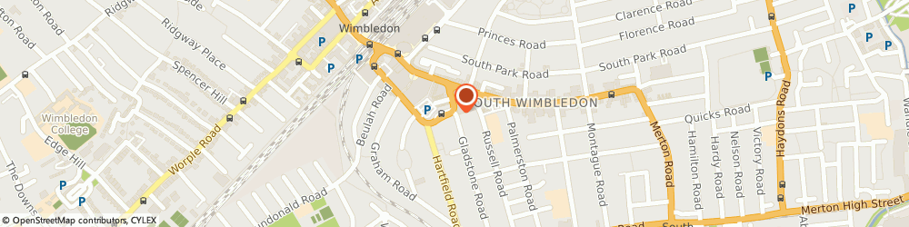 Route/map/directions to Eserv UK Limited, SW19 1QT London, 6-12 Gladstone Road
