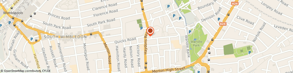 Route/map/directions to Wimbledon Dental SPA, SW19 1HH London, 113 Haydons Rd