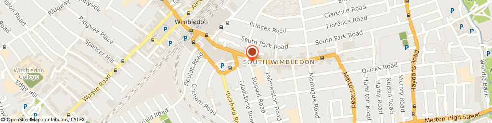 Route/map/directions to CIGMA Accounting Ltd, SW19 1QN London, 1b Russell Rd