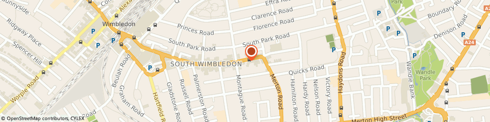 Route/map/directions to A C S Liberty Group Ltd, SW19 1SD London, FIRST FLOOR UNIT 3, TEMPLE PLACE, 247 THE BROADWAY