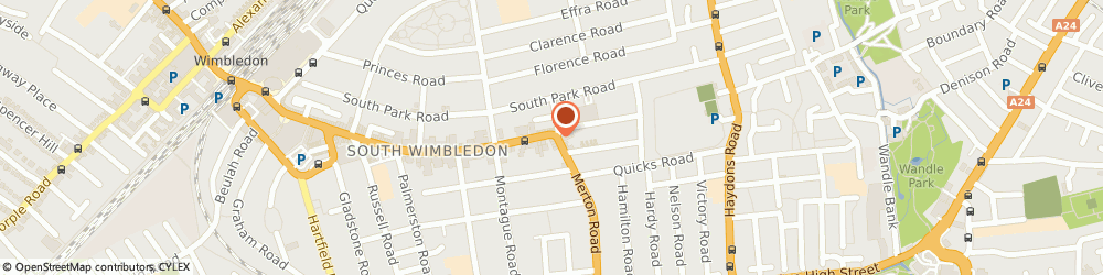Route/map/directions to Turn on Your Mobile, SW19 1SD London, 281 The Broadway Wimbledon