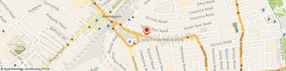 Route/map/directions to River Island WIMBLEDON, SW19 8YE Wimbledon, The Broadway