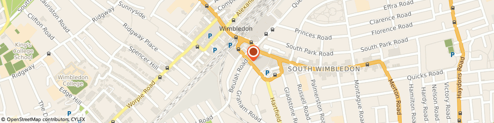 Route/map/directions to Kingston Burrowes Accountants, SW19 3SG London, 29 Hartfield Road