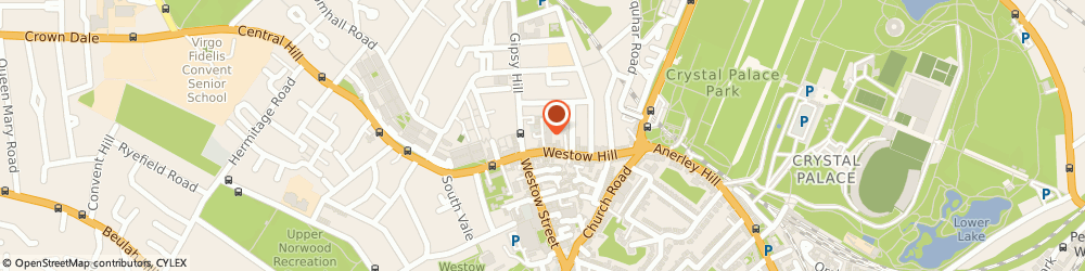 Route/map/directions to Figuration, SE19 1TN London, The Raven, 7H Coopers Yard