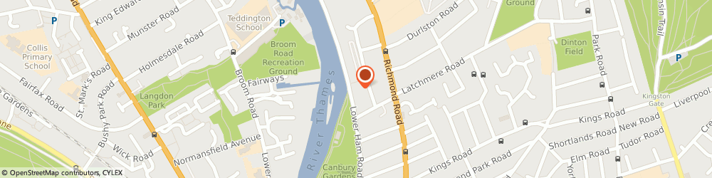 Route/map/directions to THE ALBANY BLIND CO.LTD, KT2 5BB Kingston Upon Thames, The Albany Boathouse, Lower Ham Road