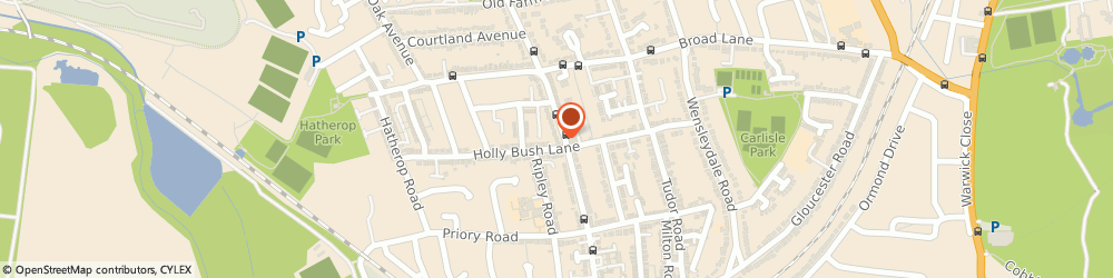 Route/map/directions to Faam Picture framing, TW2 6HT London, 131 Percy Rd