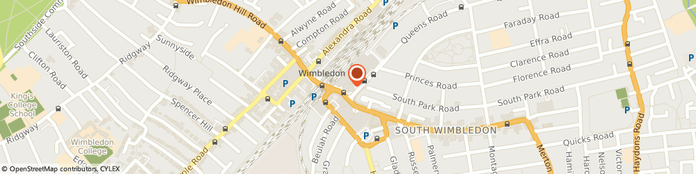Route/map/directions to Centre Court Shopping Centre, SW19 8YA London, 4 Queens Road