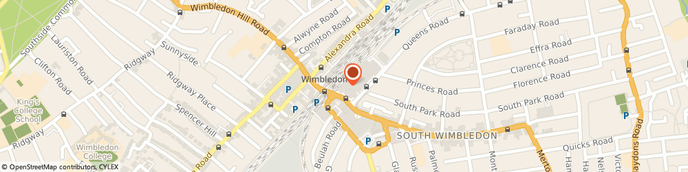 Route/map/directions to Phase Eight - Phase Eight Wimbledon, SW19 8YA London, The Broadway