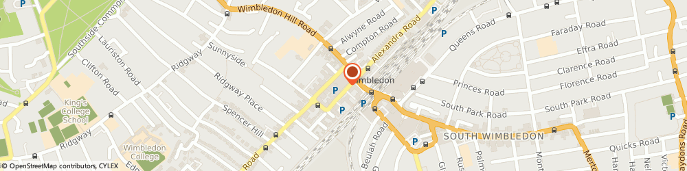 Route/map/directions to Phase Eight Elys Wimbledon, SW19 4DP London, 16 St George's Road
