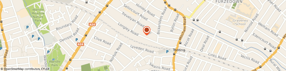 Route/map/directions to Locksmith Tooting, SW17 9LG London, 111-115 Longley Rd