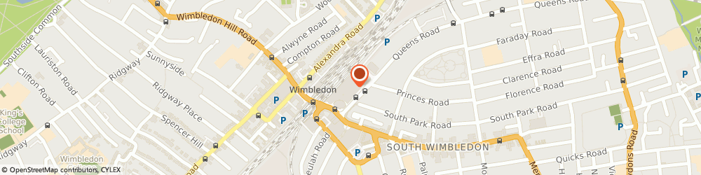 Route/map/directions to Wimbledon - Virgin Media Kiosk, SW19 8YA London, Lower Mall, Centre Court Shopping Centre