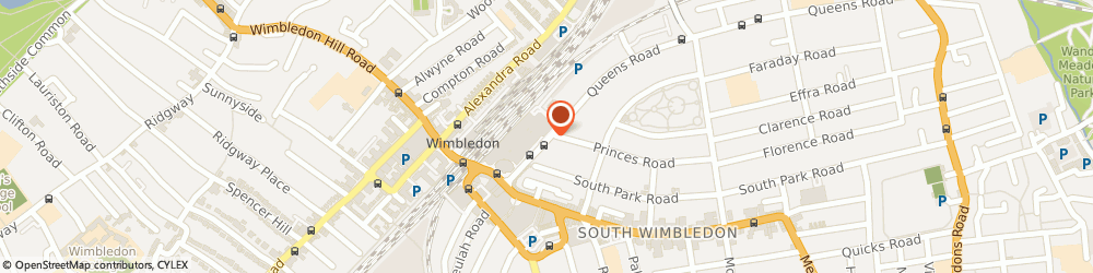 Route/map/directions to Schoolgate Accounting Services Ltd, SW19 8YB London, The Old Town Hall, 4 Queens Road