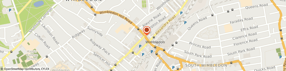 Route/map/directions to Haart Estate Agent London, SW19 7P London, 28 Wimbledon Hill Road