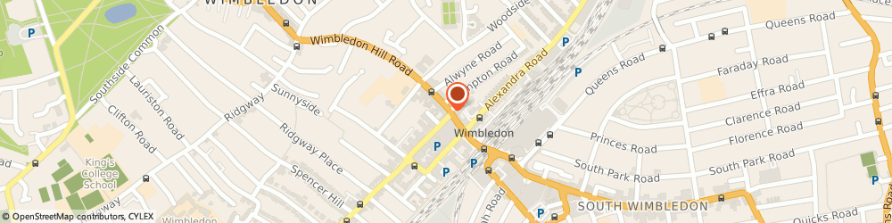 Route/map/directions to haart letting agents Wimbledon, SW19 7PA Wimbledon, 28 Wimbledon Hill Road