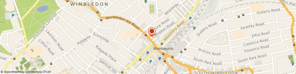 Route/map/directions to Foxtons Wimbledon, SW19 7QW Wembley, 55 Wimbledon Hill Road