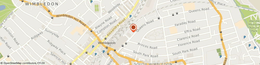 Route/map/directions to Barchester Care Homes, SW19 8LR London, 32 Queen's Road