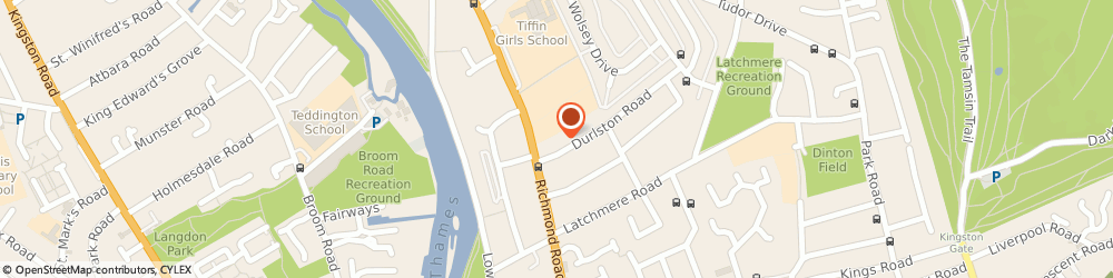 Route/map/directions to Trigold Software Solutions Ltd, KT2 7AD Kingston Upon Thames, KINGSTONS HOUSE, 15 THE COOMBE