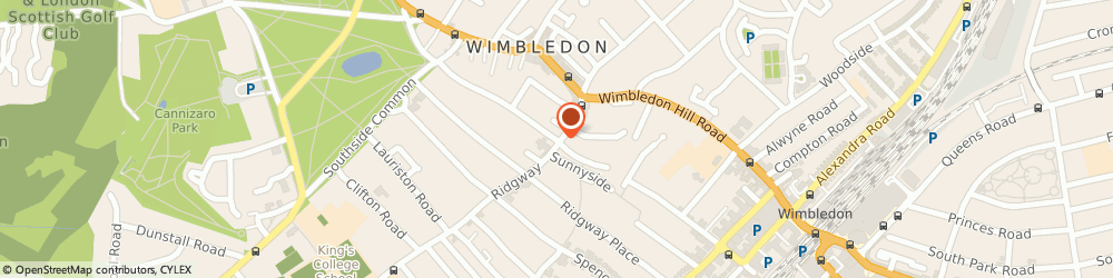 Route/map/directions to The Wimbledon Museum Of Local History, SW19 4QD London, 26, LINGFIELD ROAD