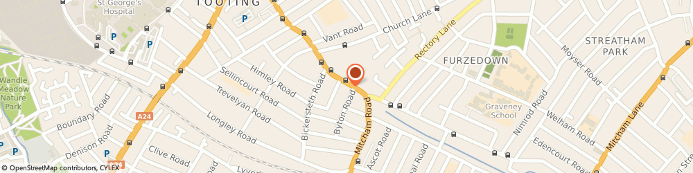 Route/map/directions to IBISS and CO, SW17 9NJ London, 188 Mitcham Rd