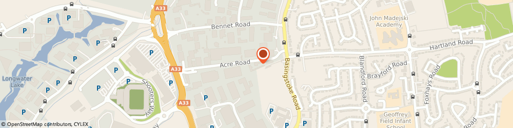 Route/map/directions to Treadwood Flooring, RG2 0SA Reading, Unit A5;Acre Business Park;Acre Road