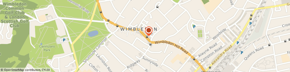 Route/map/directions to UPS Solutions Logistics, SW19 5DX London, 16 High Street