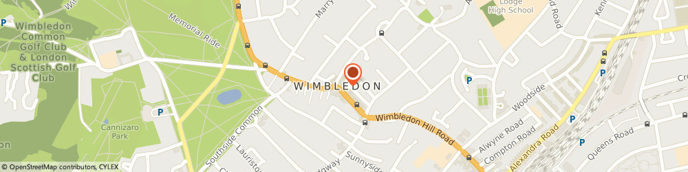 Route/map/directions to Luellas Bridal, SW19 5EG London, 78a High St