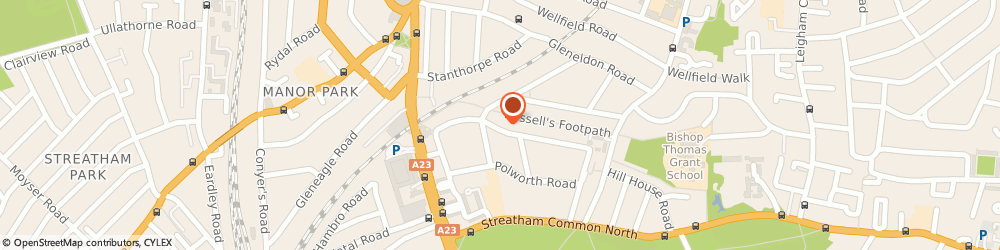 Route/map/directions to C-Link, SW16 2EL London, 43 Hopton Road