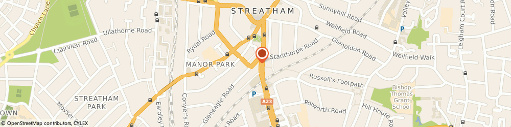 Route/map/directions to The Frame Factory, London, SW16 6AX London, 1E GLENEAGLE ROAD
