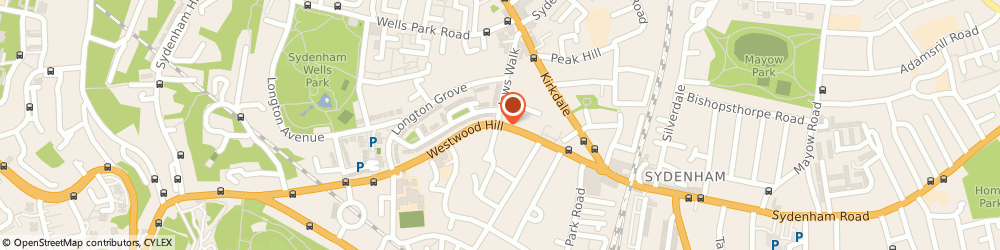 Route/map/directions to Westwood House Care Home, SE26 6BQ London, 9 Westwood Hill