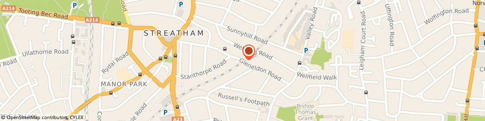 Route/map/directions to Streatham Locksmiths, SW16 2BE London, 66-68 Gleneldon Rd