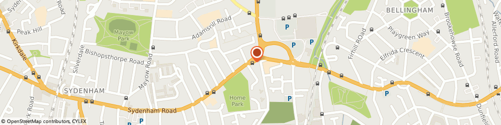 Route/map/directions to Sydenham Locksmiths, SE26 5UA London, 55-59 Sydenham Rd