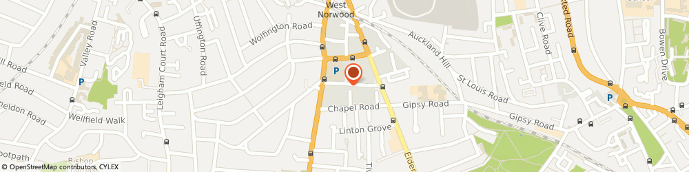 Route/map/directions to The Lettering Centre, SE27 0JN London, 33 Rothschild St