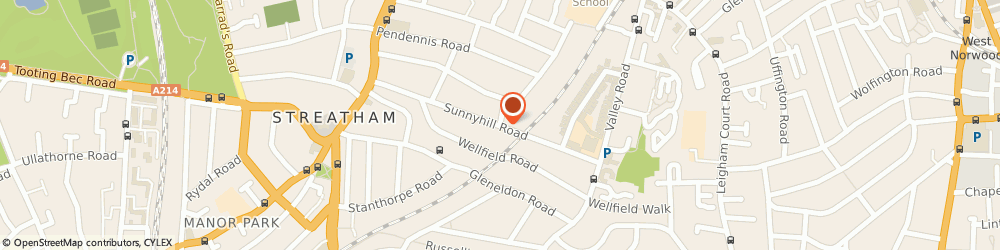 Route/map/directions to UPS Solutions Logistics, SW16 2UH Streatham, 4 Sunnyhill Road
