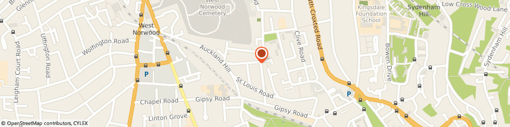 Route/map/directions to ArchiPrint UK, SE27 9PW London, 16 St Cloud Rd