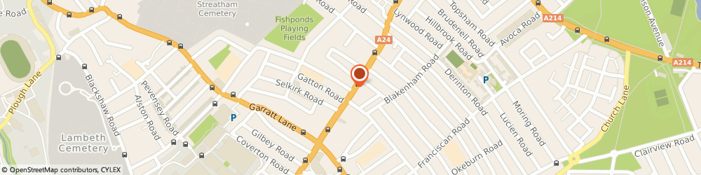 Route/map/directions to Barnard Marcus Estate Agents, SW17 7EX London, 248 Upper Tooting Road