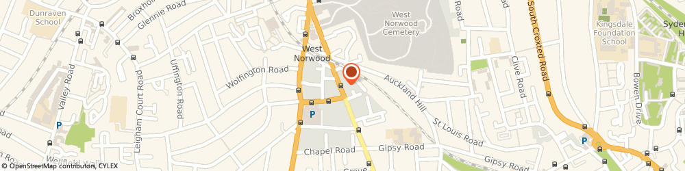 Route/map/directions to Travis Perkins, SE27 9JS London, 61-79 Norwood High Street, Lambeth
