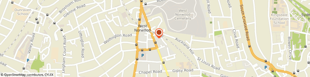 Route/map/directions to West Norwood Locksmiths, SE27 9JS London, 95A NORWOOD HIGH STREET