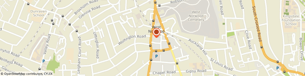 Route/map/directions to Prosperity Mortgages, SE27 0HS London, 29 KNIGHTS HILL