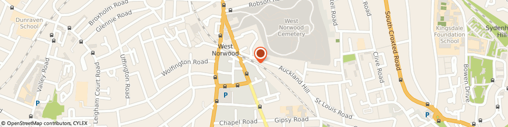 Route/map/directions to rss ltd, SE27 9JW London, Arch 8, East place