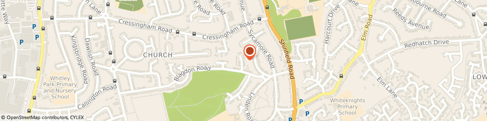 Route/map/directions to Usa Trading Limited, RG2 7NG Reading, 2 HIGHMEAD CLOSE
